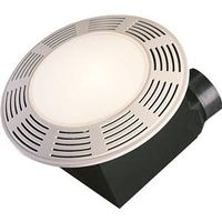 Air King Deluxe Round Exhaust Fan/Light