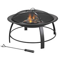 FIREPIT ROUND STEEL 30IN