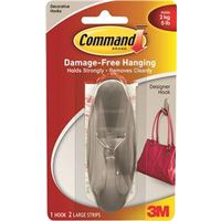 Command 17083BN Large Designer Hook