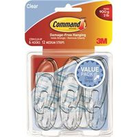 Command 17091CLR-VP Medium Designer hook