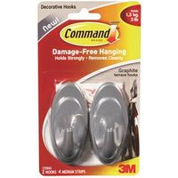 Command 17086G Medium Terrace Hook