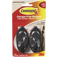 Command 17086S Medium Terrace Hook