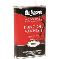 Old Masters 50508 Tung Oil Varnish
