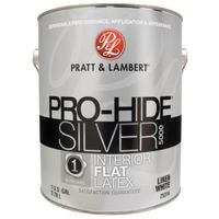 PAINT INTR FLAT LIN WHITE 1GAL
