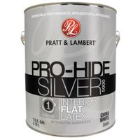 PAINT INTR FLAT CHINA WHT 1GAL