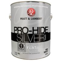 PAINT INTR FLAT PRO WHITE 1GAL