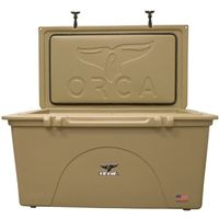 COOLER 140 QUART TAN INSULATED