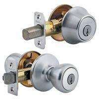 Kwikset Tylo 690T26DCP6ALRCSK6 Deadbolt Entry Knob Lockset