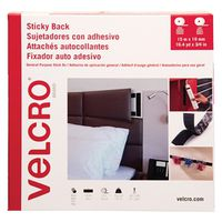 TAPE VELCRO BLACK 3/4INX49.2FT