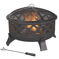 FIREPIT ROUND STEEL 32IN