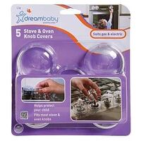 COVER STOVE-OVEN KNOB CLEAR