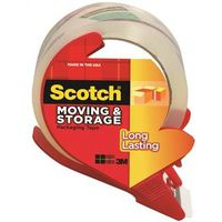 Scotch 3650S-RD Long Lasting Moving and Storage Packaging Tape