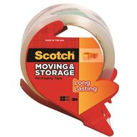 Scotch 3650-RD Long Lasting Moving and Storage Tape