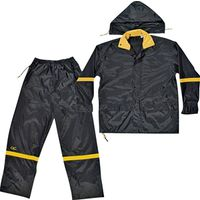 Climate Gear R103L 3-Piece Reflective Rain Suit