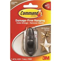 Command FC11-ORB Small Decorative Hook