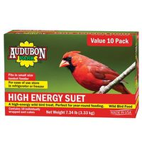 FOOD BIRD SUET HI-ENERGY 10PK