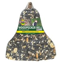 FOOD BIRD BELL WOODPECKER 13OZ