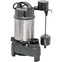 SUMP P PUMP 1/2 HP SS/CAST