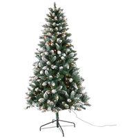 TREE TAMARACK PRELIT CLEAR 7FT