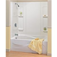 TUB-SURROUND ELAN WHT 5PC 59IN