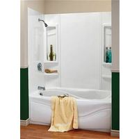 BATHTUB WALL KIT 5-PC WHT 59IN