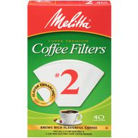 FILTER COFFEE CONE NO2 WH 40CT