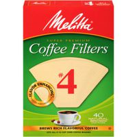 FILTER COFFEE CONE NO4 NB 40CT