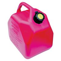 CAN GAS 25L POLYE RED