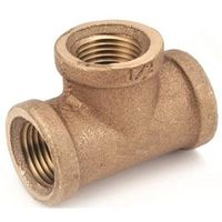 Anderson Metal 738101-02 Brass Pipe Tee