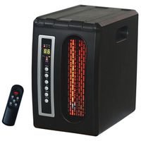 WORLD Marketing QDE1320 Infrared Quartz Heater