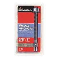 REDHEAD WEDGE ANCHOR 5/8X7 10P