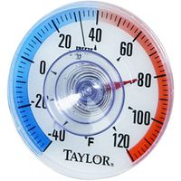 Taylor 5321N Weather Resistant Round Dial Thermometer