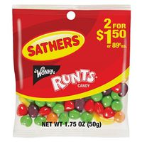 Sathers 10104 Non-Chocolate Candy Runt