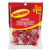 Sathers 10105 Non-Chocolate Atomic Fireball Candy