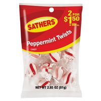 Sathers 10106 Non-Chocolate Hard Candy Twist