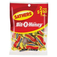 Sathers 10108 Non-Chocolate Candy Bit-O-Honey