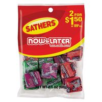 Sathers Now & Later Non-Chocolate Classic Assortment Candy