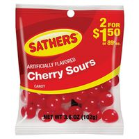 Sathers 10159 Non-Chocolate Cherry Sours