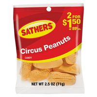 Sathers 10160 Circus Peanuts Candy