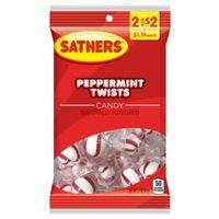 CANDY PEPPERMINT TWISTS 3.2OZ