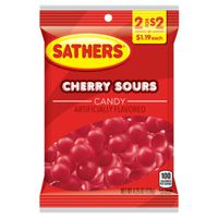 CANDY CHERRY SOURS 4.25OZ