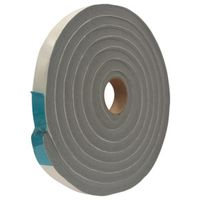 TAPE VINYL FOAM GRY 3/4INX10FT