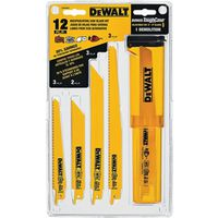 Dewalt DW4892 Bi-Metal Reciprocating Saw Blade Set