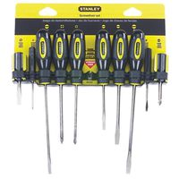Stanley 60-100 Fluted Standard Screwdriver Set
