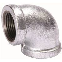 B and K 510-010BC Galvanized Pipe Malleable Iron 90 Degree Elbow