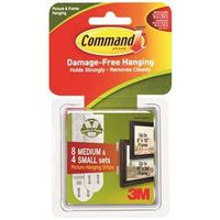 Command 17203 Small Medium Picture Hanging Strip