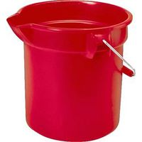 BUCKET ROUND RED 10 QUART