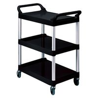 UTILITY CART 20X40IN BLACK