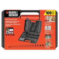 Black & Decker BDA91109 Drill/Driver Bit Set