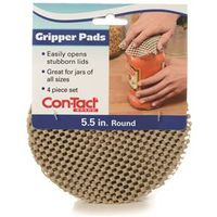 PAD GRIP 5 INCH ROUND TAUPE